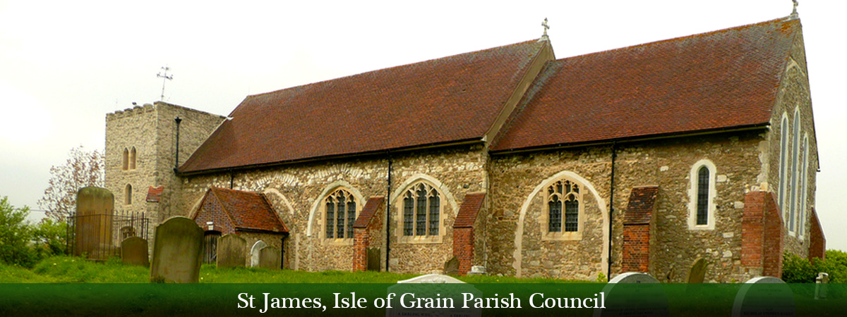 Header Image for St James Isle of Grain